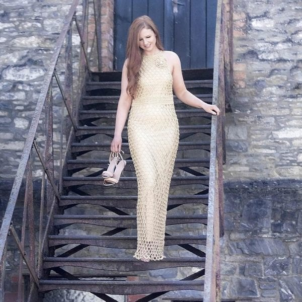 The Gold Dress